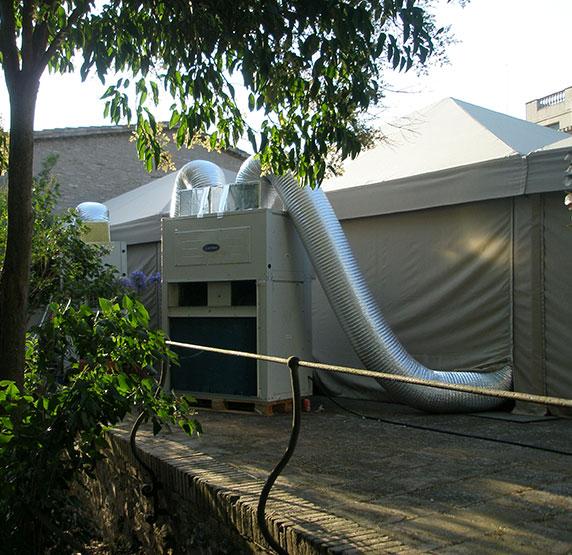 Alquiler de equipos de climatización