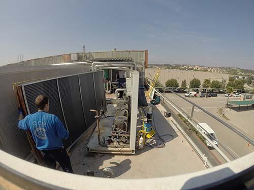 Mantenimiento de instalaciones de climatización